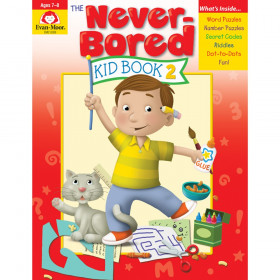 The Never-Bored Kid Book 2 - Activity Book, Grades 1-2