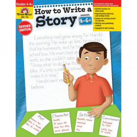 How to Write a Story Book, Grades 4-6