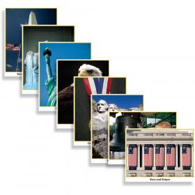 Photo Fun Patriotic Symbols 8/Pk 8-1/2 X 11