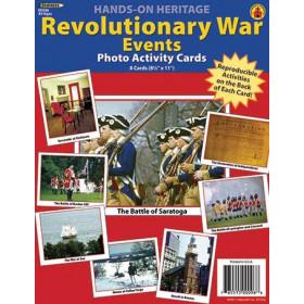 Photo History Revolutionary War 8Pk Events 8-1/2 X 11