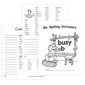 My Own Books My Spelling Dictionary