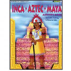 Activity Book Inca Aztec Maya