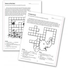 Comprehension Crosswords Book Gr 2