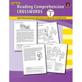 Comprehension Crosswords Book Gr 3