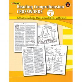 Comprehension Crosswords Book Gr 4