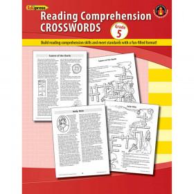 Comprehension Crosswords Book Gr 5