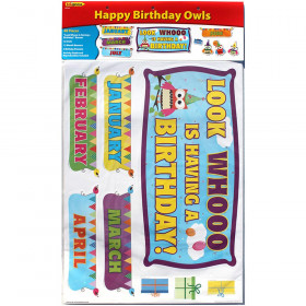 Happy Birthday Owls Bb Set