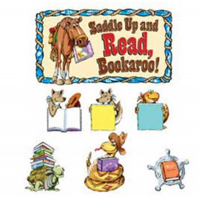 Saddle Up & Read Bulletin Board Set