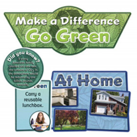 Go Green Bulletin Board Set