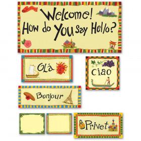 Multicultural Hello Bulletin Board Set