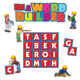 Be A Word Builder Bulletin Board Set