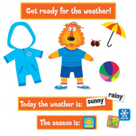 Weather Fun Bulletin Board Set