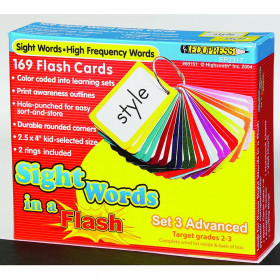Sight Words In A Flash Set 3 Gr 2-3 Advanced