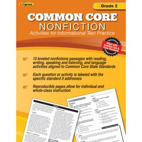 Common Core Nonfiction Book Gr 2