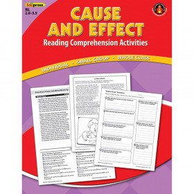 Cause Effect Comprehension Book Red Level