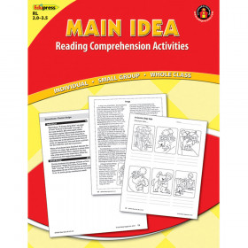 Main Idea Comprehension Book Red Level