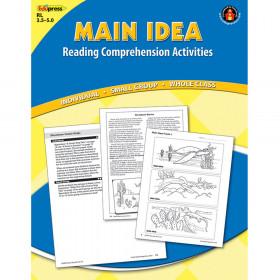 Main Idea Comprehension Book Blue Level