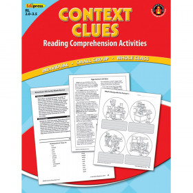 Context Clues Comprehension Book Red Level