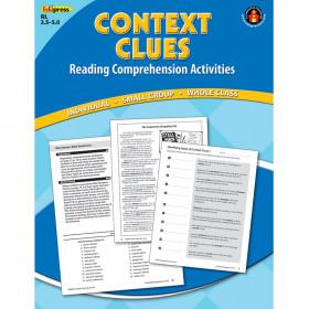 Context Clues Comprehension Bk Blue Level