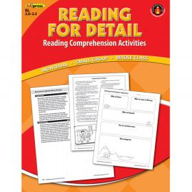 Reading Detail Comprehension Bk Red Level