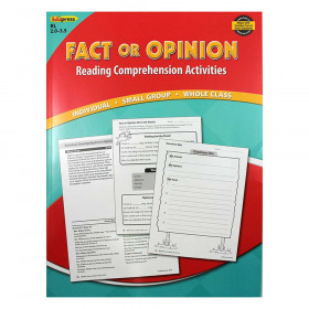 Fact Or Opinion Book Red Level