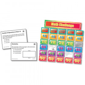 Math Pocket Chart Game Gr 3