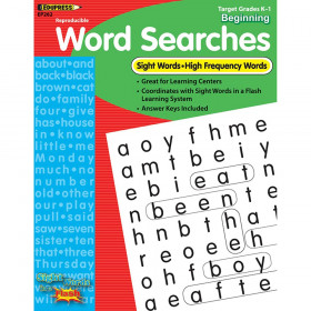 Sight Word Searches Beginning Gr K-1