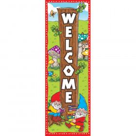 Garden Gnome Welcome Banner