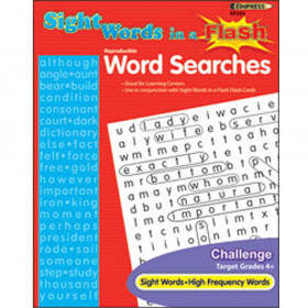 Sight Word Searches Challenging Gr 4& Up