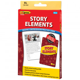 Story Elements Ylw Lvl Reading Comprehension Practice Cards