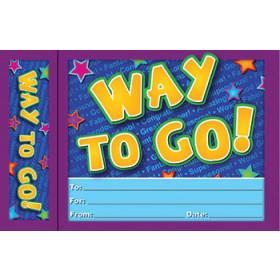 Way To Go Bookmark Award