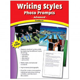 Writing Styles Photo Prompts Gr 6 & Up Upper Level Writing Prompts