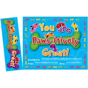 Paws-Itively Great Bookmark Awards