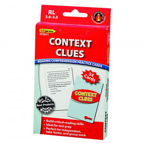 Context Clues Practice Cards, Levels 2.0-3.5