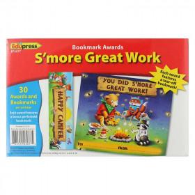Smore Great Work Bookmark Award
