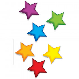 Colorful Stars Bulletin Board Set Accent