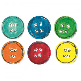 Pete the Cat Groovy Buttons Accents, Pack of 36