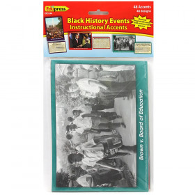 Black History Events Instructional Accents