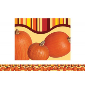 Fall Pumpkins Layered Look Border