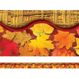 Leaves Layered Border
