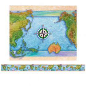 Border World Continents 12/Pk