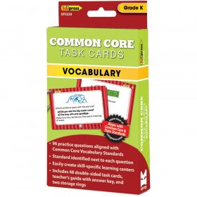 Gr K Common Core Task Cards Vocabulary