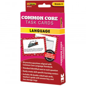 Common Core Task Cards Lang Gr K