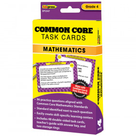 Common Core Math Task Cards Gr 4