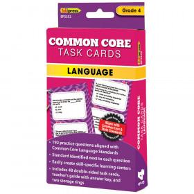 Gr 4 Common Core Language Task Cards