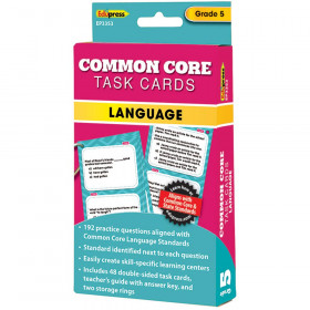 Gr 5 Common Core Language Task Cards
