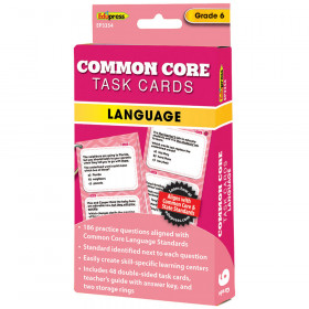 Gr 6 Common Core Language Task Cards