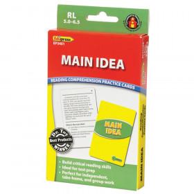 Main Idea Practice Cards, Levels 5.0-6.5