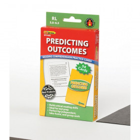 Predicting Outcomes Reading Comprehension Practice Cards Green
