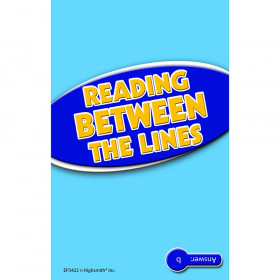 Reading Between The Lines Practice Cards Reading Level 3.5-5.0